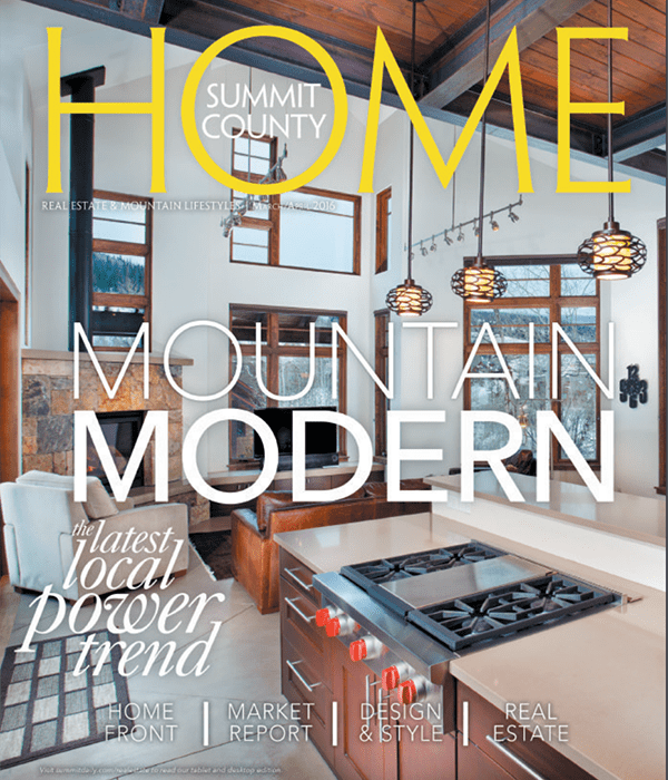 Summit County Home Mountain Modern