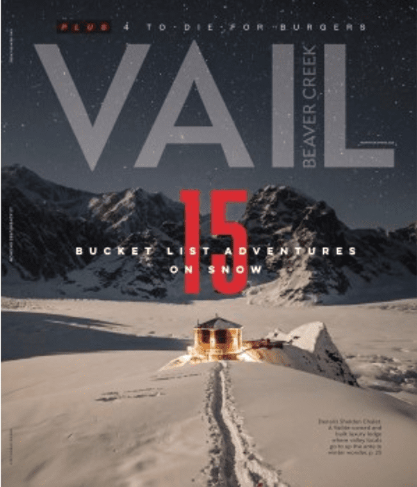 Vail Mag article on CDF